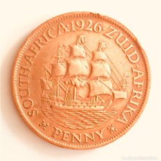 Monedas antiguas de África: BONITO PENIQUE BRONCE SOUTH AFRICA IMPERIO BRITÁNICO 1926. Lote 193438483