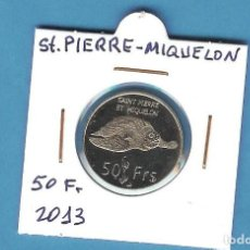 Monedas antiguas de África: ST PIERRE-MIQUELON. 50 FRANCS 2013. Lote 194511695