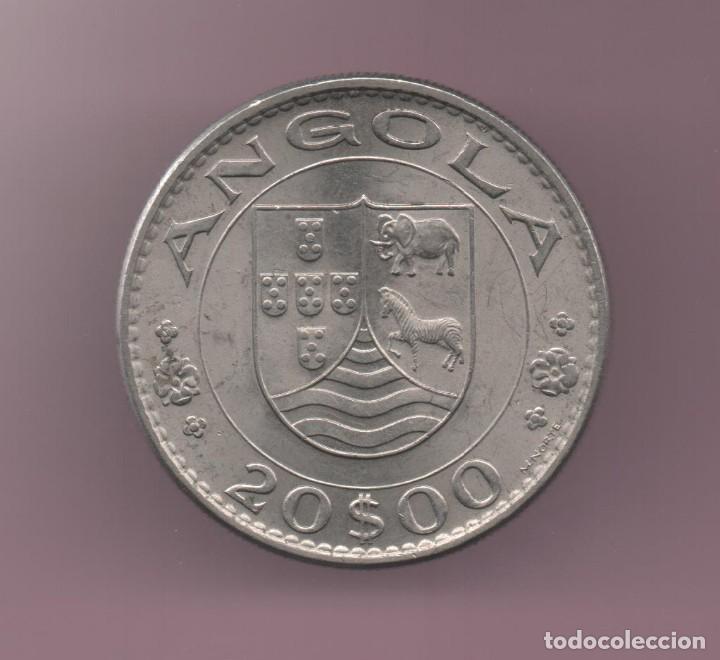 ANGOLA - 20 ESCUDOS 1971 (Numismática - Extranjeras - África)