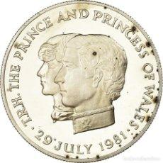 Monedas antiguas de África: MONEDA, MAURICIO, 10 RUPEES, 1981, PROOF, SC, PLATA, KM:46A. Lote 194742663