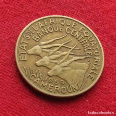 Monedas antiguas de África: CAMERUN 10 FRANCOS 1969. Lote 194864877