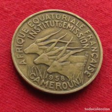 Monedas antiguas de África: CAMERUN 25 FRANCOS 1958. Lote 194865073
