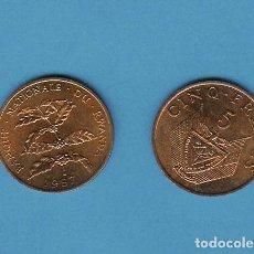 Monedas antiguas de África: RWANDA. 5 FRANCS 1987. Lote 194883287