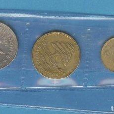 Monedas antiguas de África: LIBANO. 3 MONEDAS DE 3 VALORES DIFERENTES. 5,25 Y 50 PIASTRES. Lote 194938712