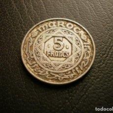 Monedas antiguas de África: MARRUECOS 5 FRANCOS 1951. Lote 194982402