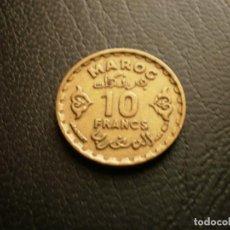 Monedas antiguas de África: MARRUECOS 10 FRANCOS 1952. Lote 194982421
