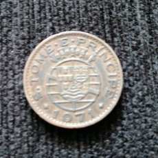 Monedas antiguas de África: 1 ESCUDO DE SANTO TOMÉ Y PRÍNCIPE 1971. Lote 195004505