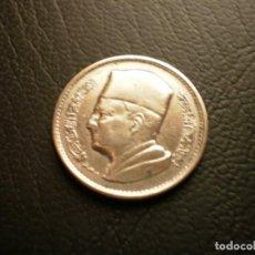 Monedas antiguas de África: MARRUECOS 1 DIRAHM 1960 PLATA. Lote 195139458