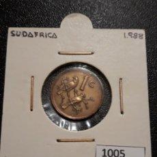 Monedas antiguas de África: SUDÁFRICA 1 CENTIMO 1988. Lote 195242467