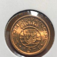 Monedas antiguas de África: SAN TOME Y PRÍNCIPE 20 CENTAVOS 1971 UNC SC. Lote 195247417