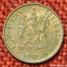 Monedas antiguas de África: SUDÁFRICA - SOUTH AFRICA - SUID AFRIKA - 1 CENT - 1985. Lote 195255625