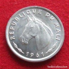 Monedas antiguas de África: MALI 10 FRANCOS 1961 CABALLO. Lote 195280035