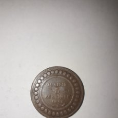 Monedas antiguas de África: 5 CENTIMOS TUNISIA TUNEZ 1916. Lote 195396507