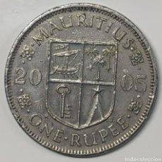 Monedas antiguas de África: MONEDA MAURICIO, 1 RUPIA 2005. Lote 195419500