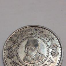 Monedas antiguas de África: 500 FRANCOS MOHAMMED V FRANCS MONEDA DE PLATA. Lote 195430055