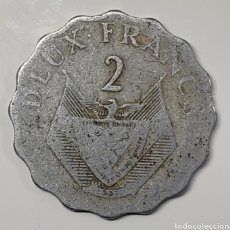 Monedas antiguas de África: MONEDA RWANDA, 2 FRANCOS 1970. Lote 195431290