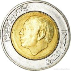 Monedas antiguas de África: MONEDA, MARRUECOS, AL-HASSAN II, 5 DIRHAMS, 1987, PARIS, BC+, BIMETÁLICO, KM:82. Lote 195513036