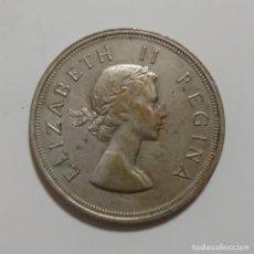 Monedas antiguas de África: PLATA-SUDAFRICA. 5 SHILLINGS 1956 . Lote 195521680