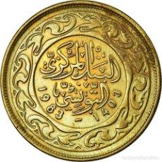 Monedas antiguas de África: MONEDA, TÚNEZ, 100 MILLIM, 1983, PARIS, BC+, LATÓN, KM:309. Lote 195523702