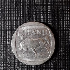 Monedas antiguas de África: SUDÁFRICA 5 RAND 1994 KM140. Lote 196940218