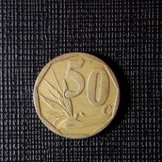 Monedas antiguas de África: SUDÁFRICA 50 CENTS 2008 KM443. Lote 196940397