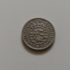 Monedas antiguas de África: ANGOLA 1950. Lote 196984887