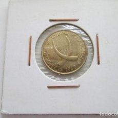 Monedas antiguas de África: REPUBLICA DE GUINEA ECUATORIAL * 1 PESETA 1969 * SC. Lote 197335126
