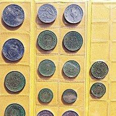 Monedas antiguas de África: COLECCIÓN DE 19 MONEDAS DE LA REPÚBLICA DE TÚNEZ. AÑOS 90. Lote 197882936