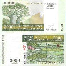 Monedas antiguas de África: MADAGASCAR - 2000 ARIARY 2004 / 8 - S / C - VISITA MIS OTROS LOTES Y COMBINA CON OTROS ARTÍCULOS. Lote 201736131