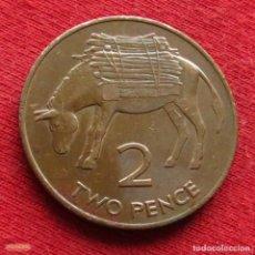 Monedas antiguas de África: SANTA HELENA Y ASCENSION 2 PENCE 1991 KM# 12 *CD. Lote 201762668