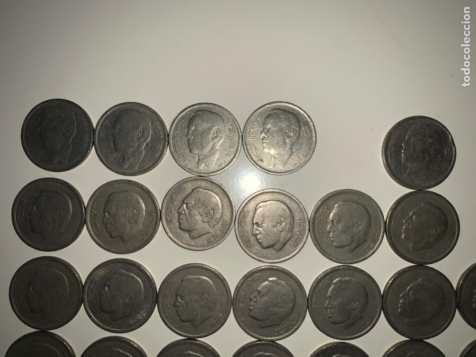 Monedas antiguas de África: Lote 26 monedas 1 dirham Marruecos 1965-1969-1974-1987 - Foto 3 - 202880876