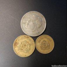 Monedas antiguas de África: LOTE TRES MONEDAS MARROQUIS. Lote 203794637