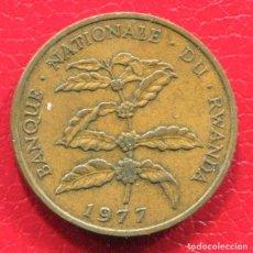 Monedas antiguas de África: RWANDA - 5 FRANCOS 1977. Lote 205148437