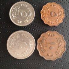 Monedas antiguas de África: EGIPTO II GUERRA MUNDIAL 1941-43 MILLIEMES. Lote 205363118