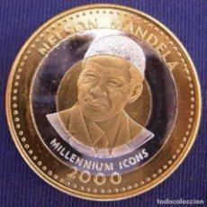 Monedas antiguas de África: SOMALIA 2000 ICONS 6 MONEDAS 250 SHILLINGS. Lote 206242656