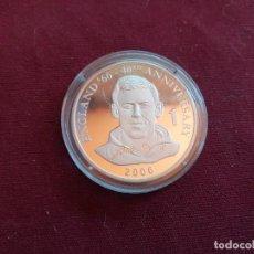 Monedas antiguas de África: REPÚBLICA DEMOCRÁTICA DEL CONGO. 10 FRANCS DE 2006. FÚTBOL ENGLAND 1966. PLATA PURA DE 999 MILÉSIMAS. Lote 206341186