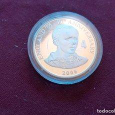 Monedas antiguas de África: REPÚBLICA DEMOCRÁTICA DEL CONGO. 10 FRANCS DE 2006. FÚTBOL ENGLAND 1966. PLATA PURA DE 999 MILÉSIMAS. Lote 206341803