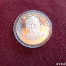 Monedas antiguas de África: REPÚBLICA DEMOCRÁTICA DEL CONGO. 10 FRANCS DE 2006. FÚTBOL ENGLAND 1966. PLATA PURA DE 999 MILÉSIMAS. Lote 206341848