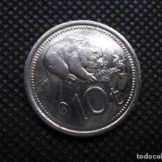 Monedas antiguas de África: PAPUA 10 TALA 1976. Lote 206768822