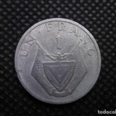 Monedas antiguas de África: RWANDA 1 FRANCOS 1985. Lote 206769031