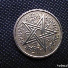 Monedas antiguas de África: MARRUECOS 2 FRANCOS 1945. Lote 206769450