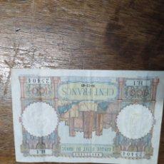 Monedas antiguas de África: BILLETE DE 100 FRANCOS DE MARRUECOS 1948. Lote 207012963