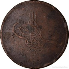Monedas antiguas de África: MONEDA, EGIPTO, ABDUL AZIZ, 40 PARA, QIRSH, 1869/AH1277, MISR, BC+, BRONCE. Lote 207087611