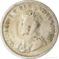 Monedas antiguas de África: MONEDA, SUDÁFRICA, GEORGE V, 6 PENCE, 1933, BC+, PLATA, KM:16.2. Lote 207094167