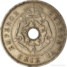 Monedas antiguas de África: MONEDA, RODESIA DEL SUR, GEORGE VI, PENNY, 1939, BRITISH ROYAL MINT, BC+, COBRE. Lote 207094395