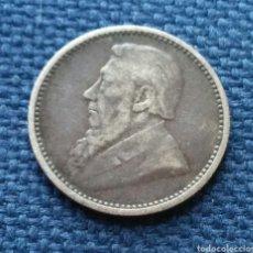 Monedas antiguas de África: 3 PENCE 1893 PLATA SUDÁFRICA. Lote 207101432