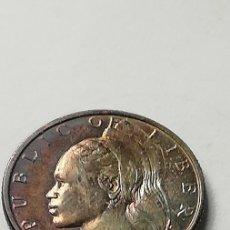 Monedas antiguas de África: MONEDA 25 CÉNTIMOS 1961 LIBERIA. Lote 207101438