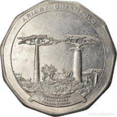 Monedas antiguas de África: MONEDA, MADAGASCAR, 50 ARIARY, 1996, PARIS, EBC, ACERO INOXIDABLE, KM:25.1. Lote 207119065