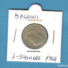 Moedas antigas de África: MALAWI. 1 SHILLING 1964. COBRE NÍQUEL Y ZINC. KM#2. Lote 208005065