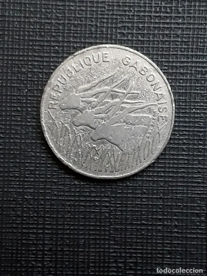 GABÓN 100 FRANCS 1984 KM14 (Numismática - Extranjeras - África)